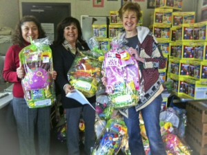 Easter Basket Donations 2012